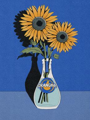 Sunflowers & Orangina