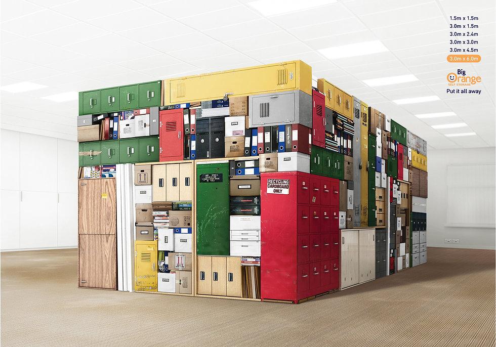 Big Orange Storage Print ad 3