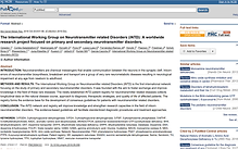 Consensus Guidelines Publication - iNTD