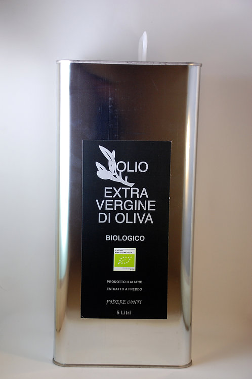 Organic Extra Virgin Olive Oil 5000 ml