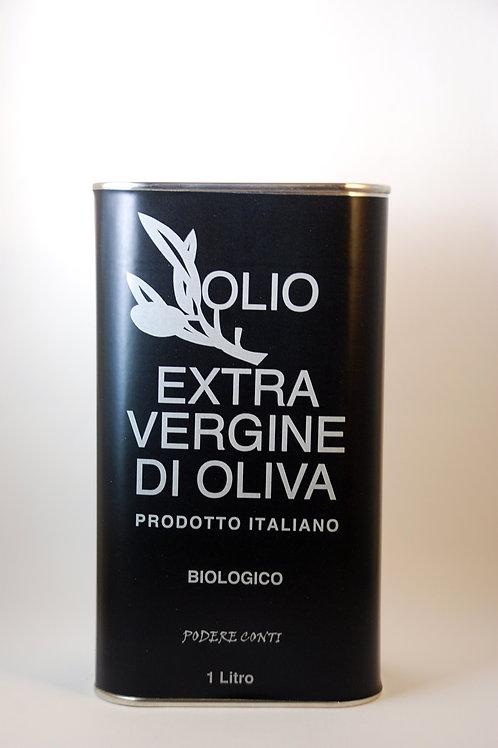 Organic Extra Virgin Olive Oil 1000 ml
