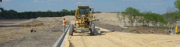 Gainesville, FL – Residential commercial site work, paving, underground utilities, excavation, contractors, earthwork construction
