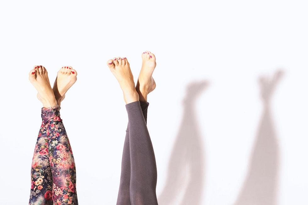 Legs with Leggings