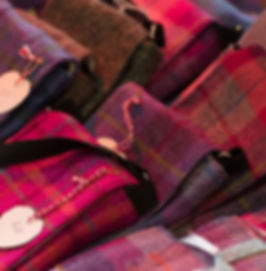 iHeartBags shown at West Linton Market in Peebleshire in the Scottish Borders