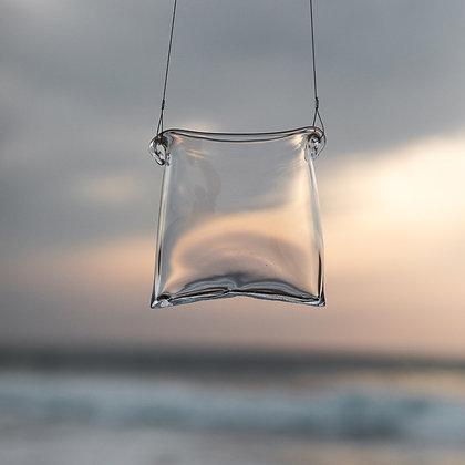 SAON / Vase soufflé en verre suspendu / OOYA Tomoko