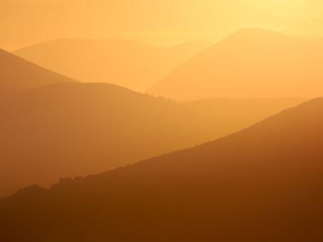 Sunrise at Castle Hill