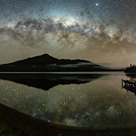 Lake Kaniere, West Coast NZ  Due to the complexities of the New Zealand Department of Conservation concession laws, this image is currently unavailable for purchase. Feel free to get in touch with your local MP to help remedy this!