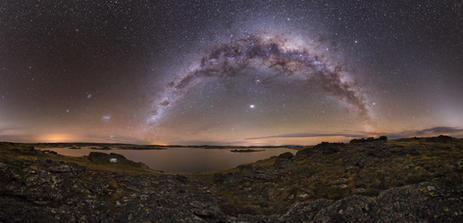 Milky Way over Poolburn