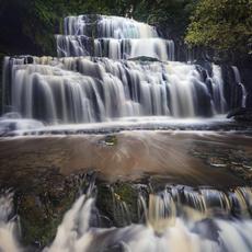 Purakaunui Falls  The Iconic falls in the catlins, South Island, New Zealand  WF008