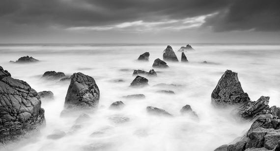 Storm Tide  Monochrome fine art rag paper image  Get in touch for prints!