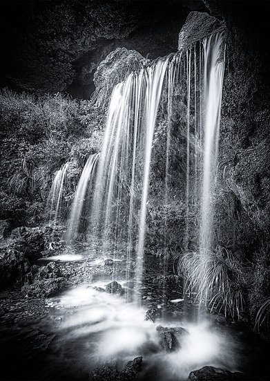 Gouland Downs Waterfall