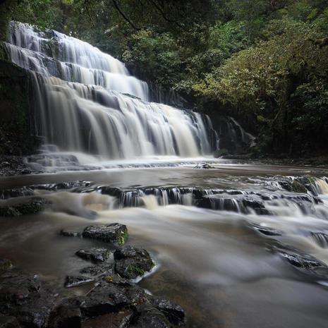 Purakanui Falls II  WF004