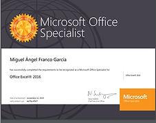 Certificacion Profesor Microsoft Office