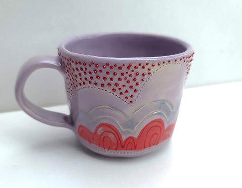 Red Rainbow Mug
