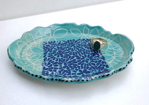 Jade Oval Dish