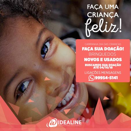 Campanha para o Dia das Crianças IDEALINE