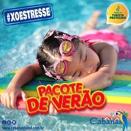 Cabanas Termas Hotel - Pacote de Verão.j