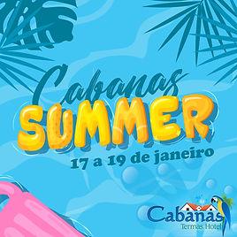 Cabanas Termas Hotel - Cabanas Summer 20