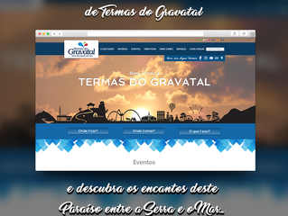 Termas do Gravatal lança portal turistico digital e aplicativo mobile com informações turísticas