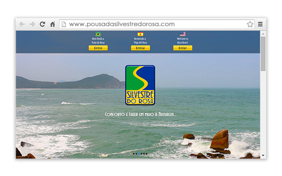 Site para Hotel