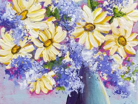 A Sunny Bouquet for You *SOLD*