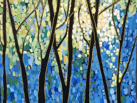 Through the Trees *SOLD*