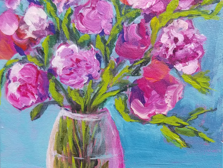 A Pink Bouquet for You *SOLD*