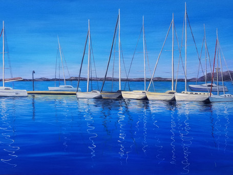 Harbour Reflections  $500