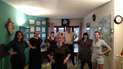 Group class at Accademia Vocal Power