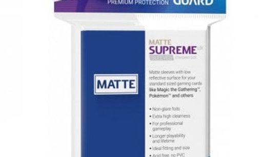 Ultimate Guard Supreme UX Sleeves Standard Size - MATTE Blue (50)