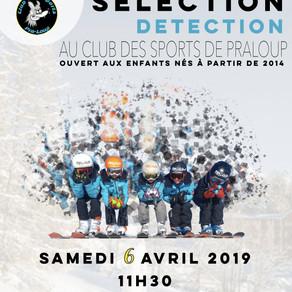 Journée de sélection 06/04/2019 à 11h30