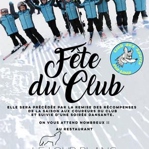 Fête du Club 12/04/2019