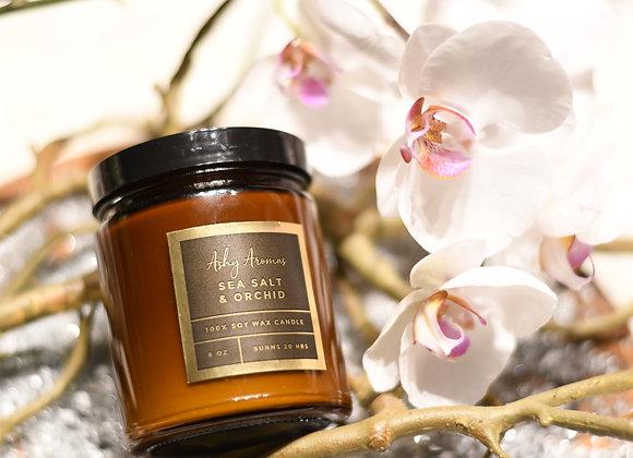 Sea Salt & Orchid Candle