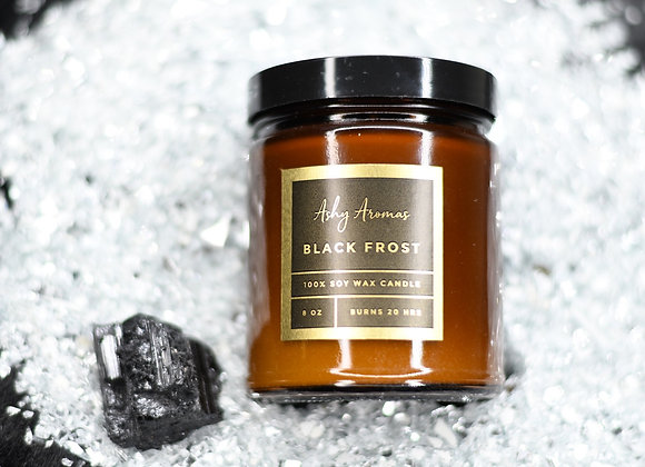 Black Frost Candle