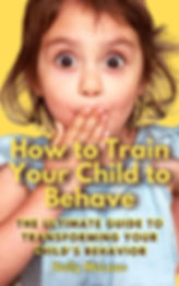 How to Train Your Child to BehaveCOVERJP