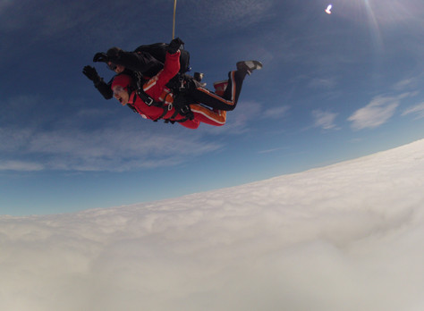 What does it mean to be happy: My skydiving adventure