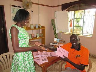 Vendor and Mango Tree books