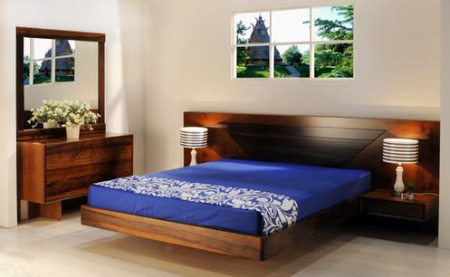 חדר שינה פקאן