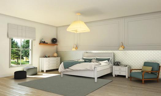 חדר שינה שמפיין