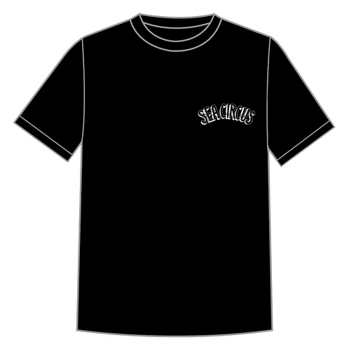 "Black ""Sea Circus"" T'Shirt"