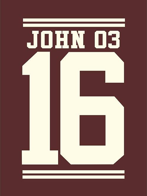 João 3:16 | Longlook | Feminino