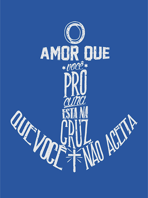 Âncora | Camiseta | Masculino