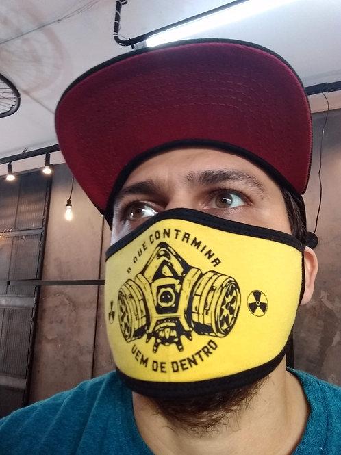 O que contamina | máscara
