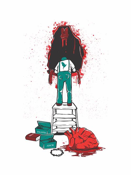 Reforma do coração | Camiseta | Masculino