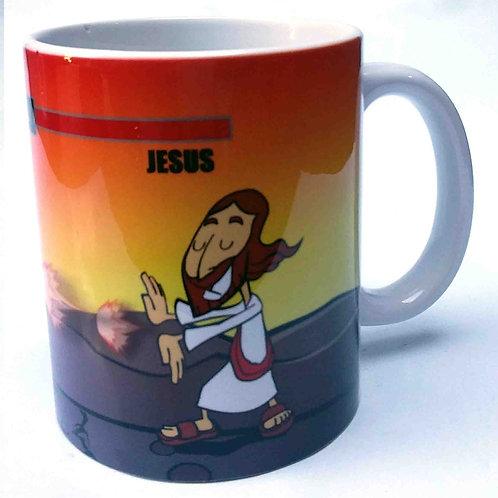 Jesus venceu a morte | Caneca