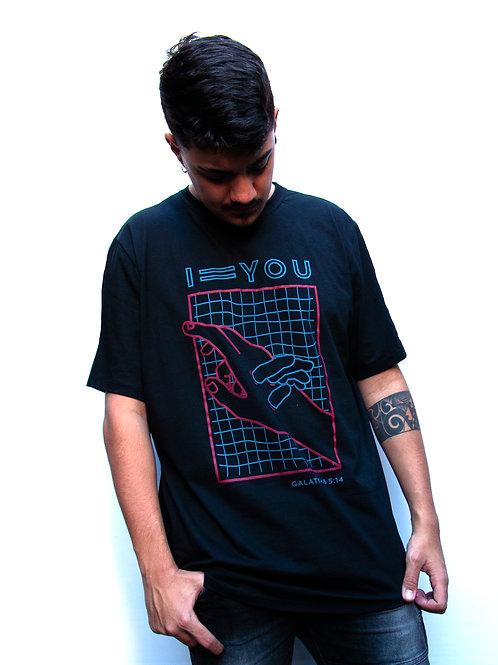 Eu igual você | Camiseta Tradicional