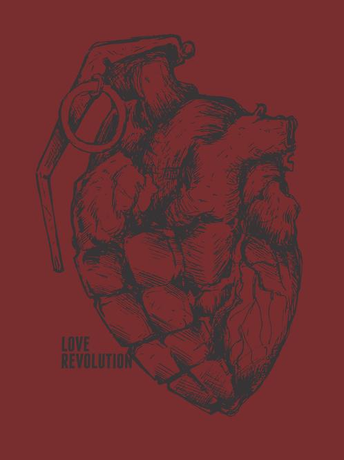 Revolução do Amor | Camiseta | Masculino