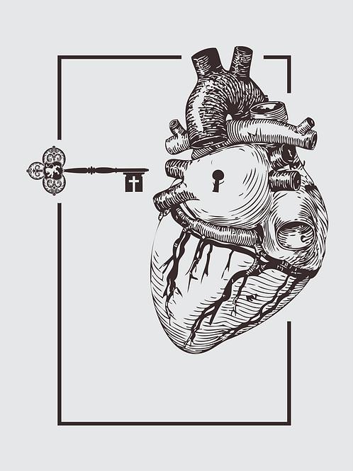 Chave do coração | Masculino