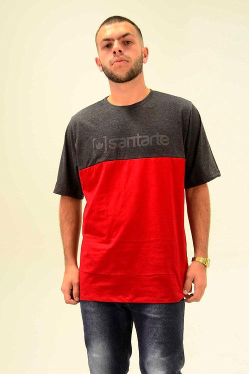 Vermelho x Chumbo | Camiseta | Masculino