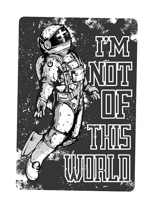 Não sou desse mundo | Camiseta | Masculino